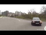 Как не нужно ездить на BMW по городу ) How to drive in the city