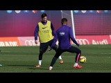 Training session (20/02): First day on Camp Tito Vilanova