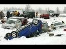 Подборка аварий январь 2015.Гололед на дороге. Зимние аварии 2015