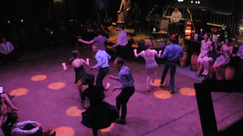 Lindyhop žaidynės | Stipriai Nusižengę pasirodymas