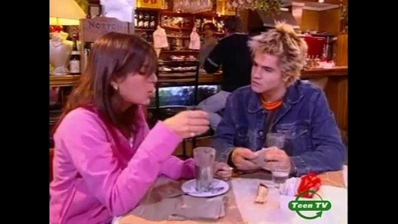 Мануэль и Сабрина в кафе 46 серия 2 сезон