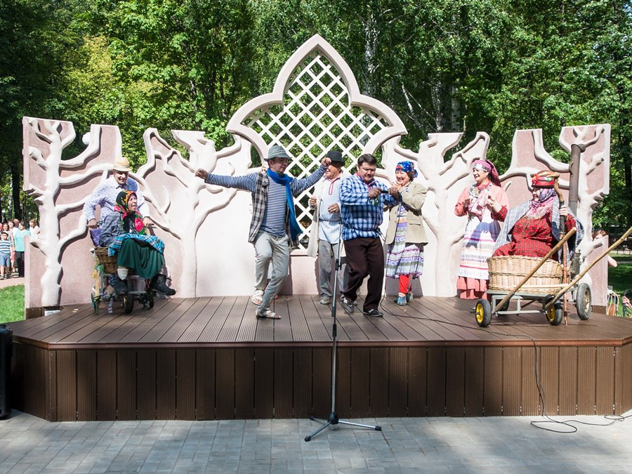 Три дня в парке Тукая в Нижнекамске будут проходить концерты-променады