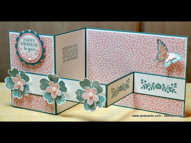No.158 - Double Z Card - JanB UK Stampin' Up! Demonstrator Independent