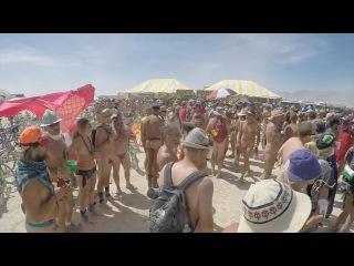dusty naked Burning Man 2015