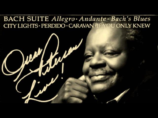 Oscar Peterson - The Bach Suite - Allegro Andante Bachs Blues - Vinyl LP