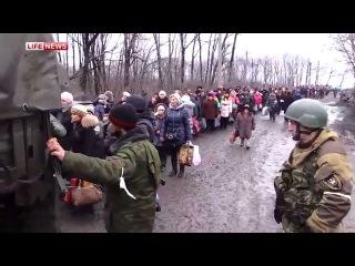 Эвакуация из Углегорска прошла под залпы артиллерии ВСУ