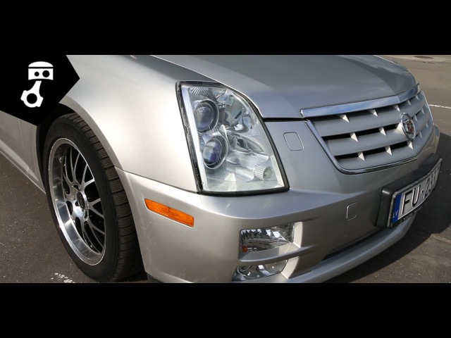 Cadillac STS 3.6L V6 Тест-драйв