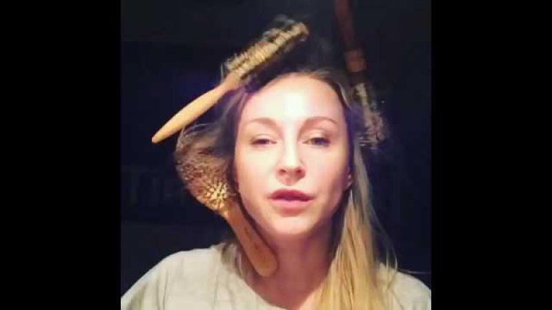 Ольга Медынич Как сделать локоны