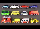 Learning Street Vehicles for Kids 1 with Hot Wheels, Matchbox, Tomica Cars and Trucks Tayo