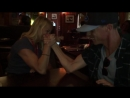 Battle of the Sexes_ Dennis and Judis producer arm wrestles female intern