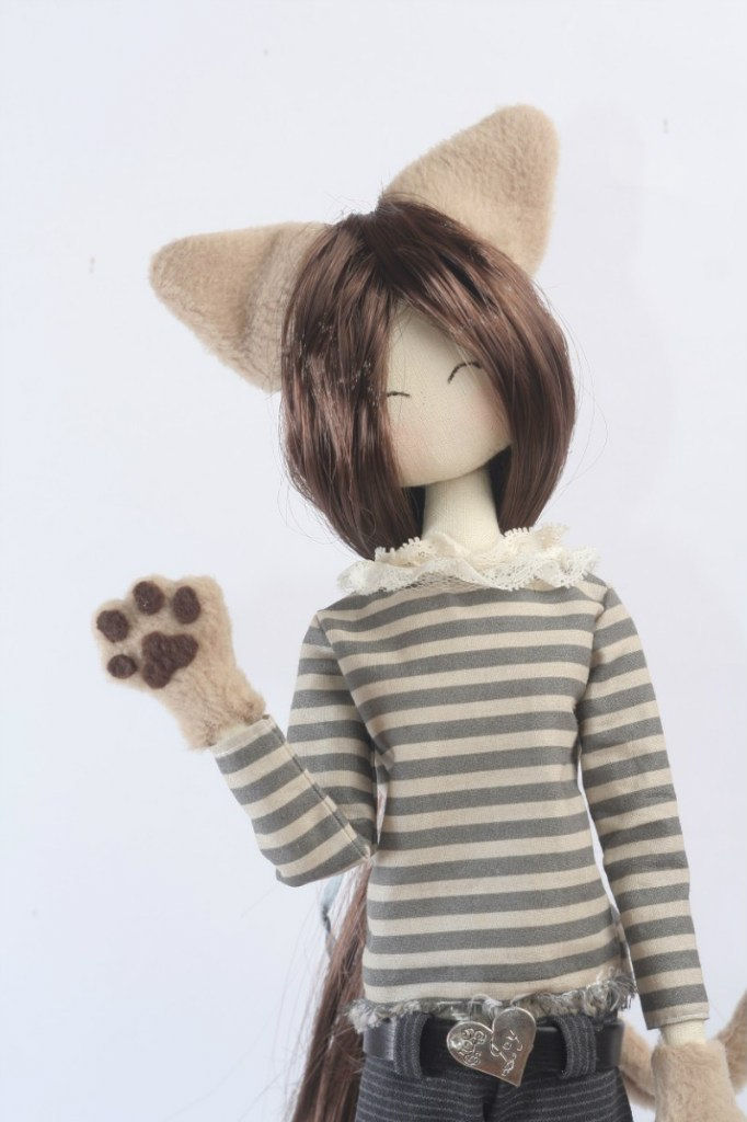кукла кошка