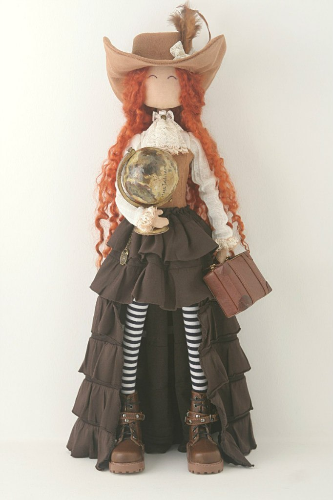 кукла путешествий