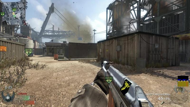 Team RezisT Call of Duty Black Ops томагавк через всю карту :D