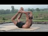Advanced Traditional Hatha Yoga with Babu Raj. Flexibility  Strength from the Himalayas, India