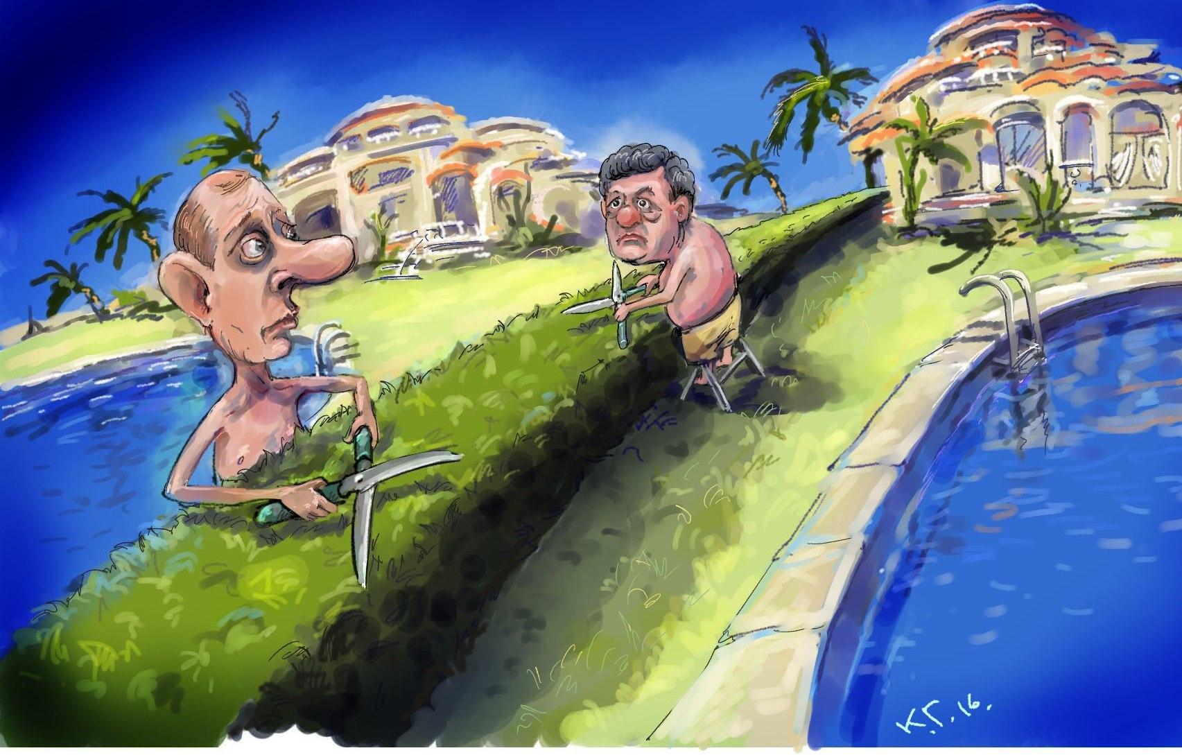 Лещенко просит НАПК проверить возможное уклонение Порошенко от декларирования ценного имущества в Испании - Цензор.НЕТ 6617