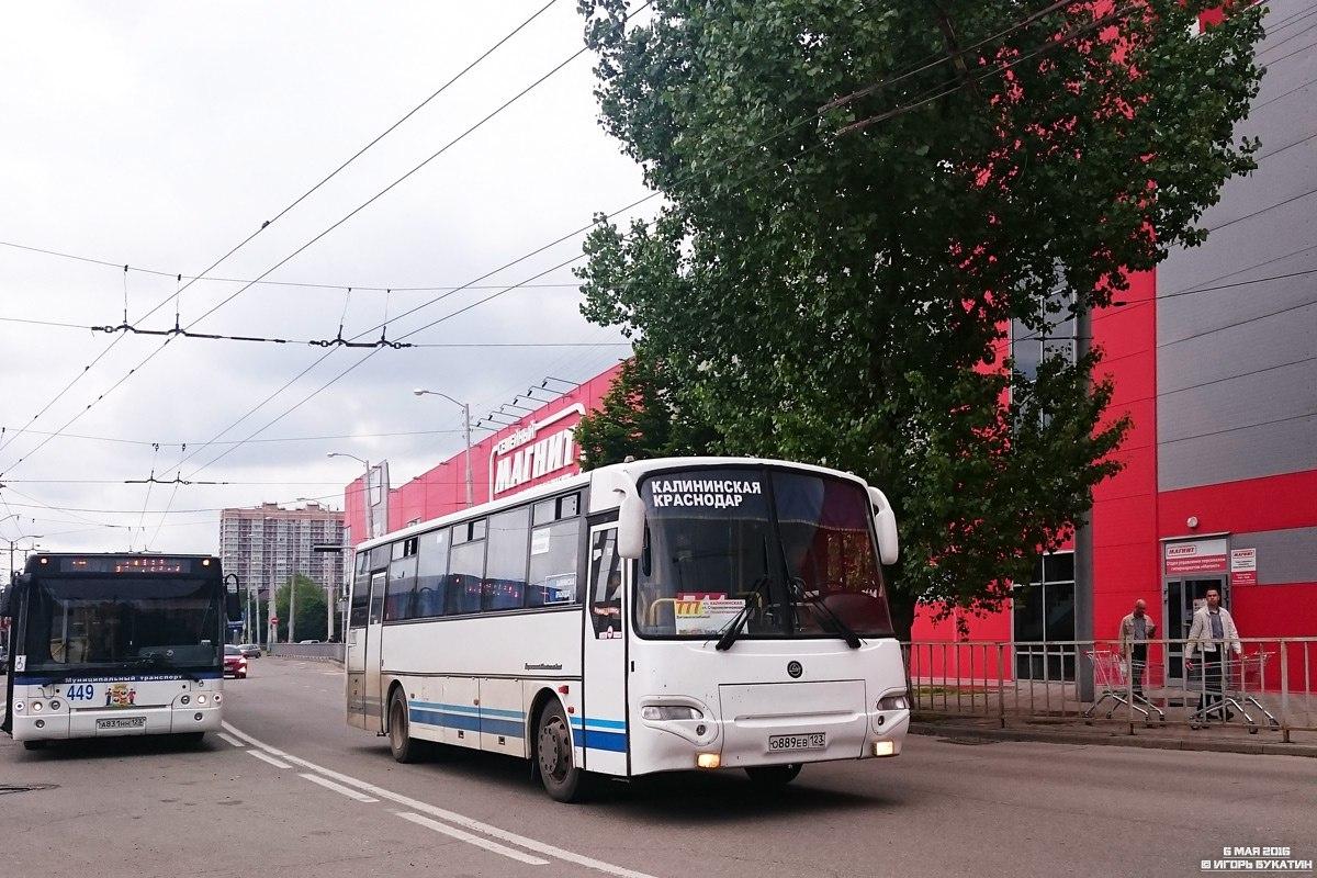 Автобус краснодар калининская упакован