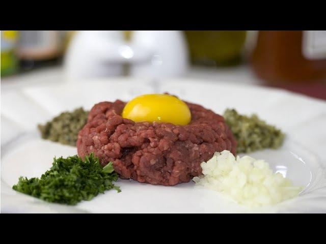 Best Beef Steak Tartare Recipe - How to Make Steak Tartare