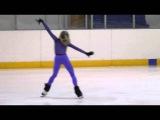 Elena Radionova, FS at practice (Russian Juniors)