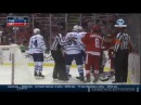Tomas Nosek Hit on Stuart Percy - Match Penalty (9/29/14)