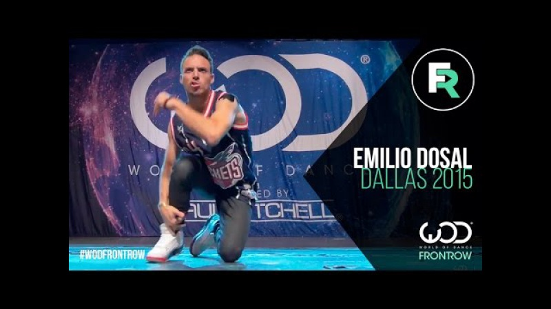 Emilio Dosal | FRONTROW | World of Dance Dallas 2015 WODDALLAS2015