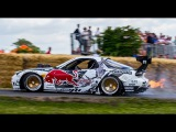 Goodwood Festival OF Speed 2015 Burn outs,Drifts,Crash and Fast Runs