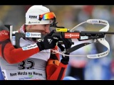 серебро2013-02-10 Биатлон Чемпионат мира 2013 Гонка преследования Мужчины Нове Место