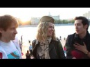 Люди об Руских вечёрках на улицах Москвы и световая Розочка 2