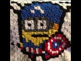 How To Crochet A c2c (corner to corner) Graphghan