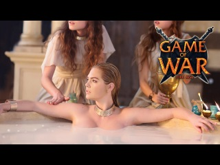 Game of War: Fire Age - Live Action All Trailer Commercial ft.  Kate Upton