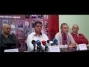 Правий Сектор на пресс конференціі Майдану з приводу подій з Шуфричем 30 вересня 2014 року
