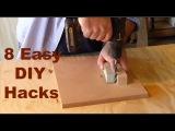 DIY Hacks - 8 money saving handyman and woodworking hacks