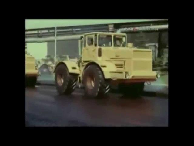 Kirovets K-700 Soviet heavy duty tractor