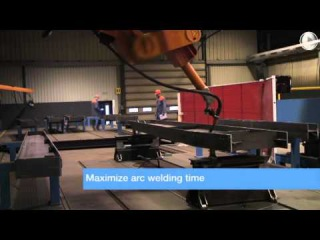 High-tech production - automatised welding robot