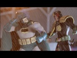 BATMAN vs JUDGE DREDD Stop Motion (Fan Film) (Halloween Special #2)