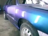 Цвет бирюзово-фиолетовый хамелеон. Покраска Ауди 100 в гараже АСС.