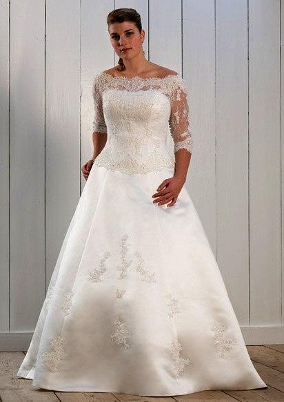Свадебные платья 54 размеров фото