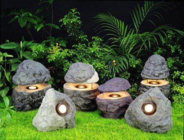 Как сделать фонарики для сада своими руками