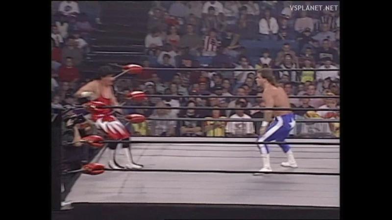 Eddie Guerrero vs Chris Benoit, WCW Monday Nitro 16.10.1995
