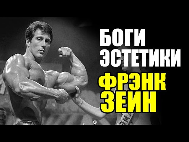 БОГИ ЭСТЕТИКИ ФРЭНК ЗЕЙН Как Менс Физик Качков Шатал