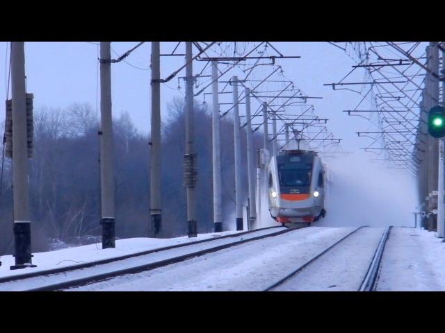 ЭКр1-001 ОПЫТНЫЙ СКОРОСТНОЙ ЭЛЕКТРОПОЕЗД