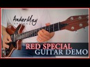 AnderMay Guitars Queen Brian May´s Red Special Guitar Replica