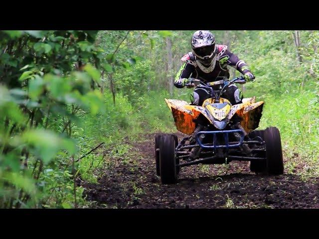2016 YFZ 450R Riding with TSM's Brandon Lenk