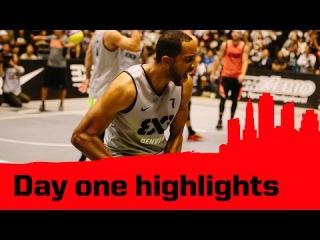 Day 1 Highlights - 2014 FIBA 3x3 World Tour Final