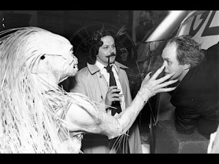 Behind the scenes of George Miller directing John Lithgow in