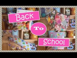 ❤BACK TO SCHOOL/Снова в школу! Моя школьная канцелярия❤