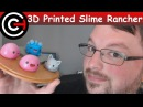 3D Printed Slime Rancher - Pink, Tabby and Rock Slimes