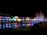 Поющие фонтаны в парке Голливуд в Шарм-эль-Шейх