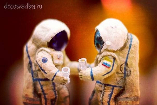 Космонавты из ваты. Авторская кукла. Мастер-класс