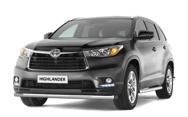 Toyota Highlander Club - Распродажа металлической защиты из нержавейки от производителя (дешевле быть не может)