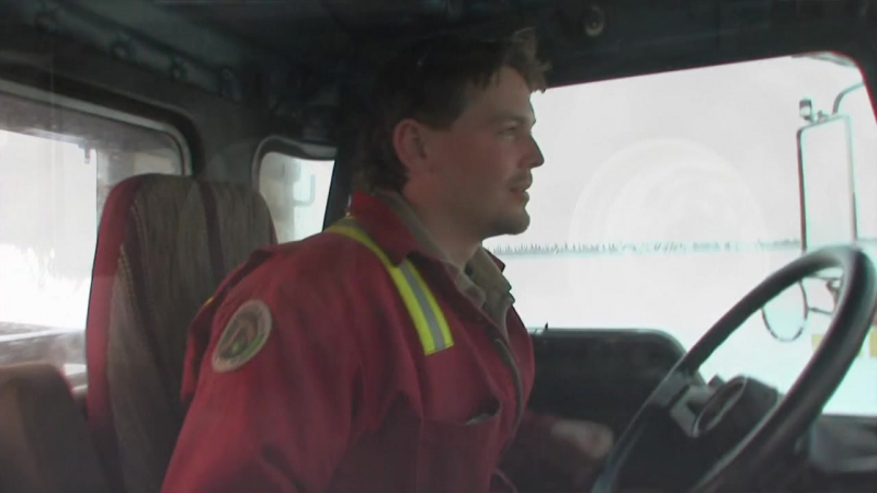 Ледовый путь дальнобойщиков 2 сезон 14 серия из 14 / Ice Road Truckers (2008) HD 720p